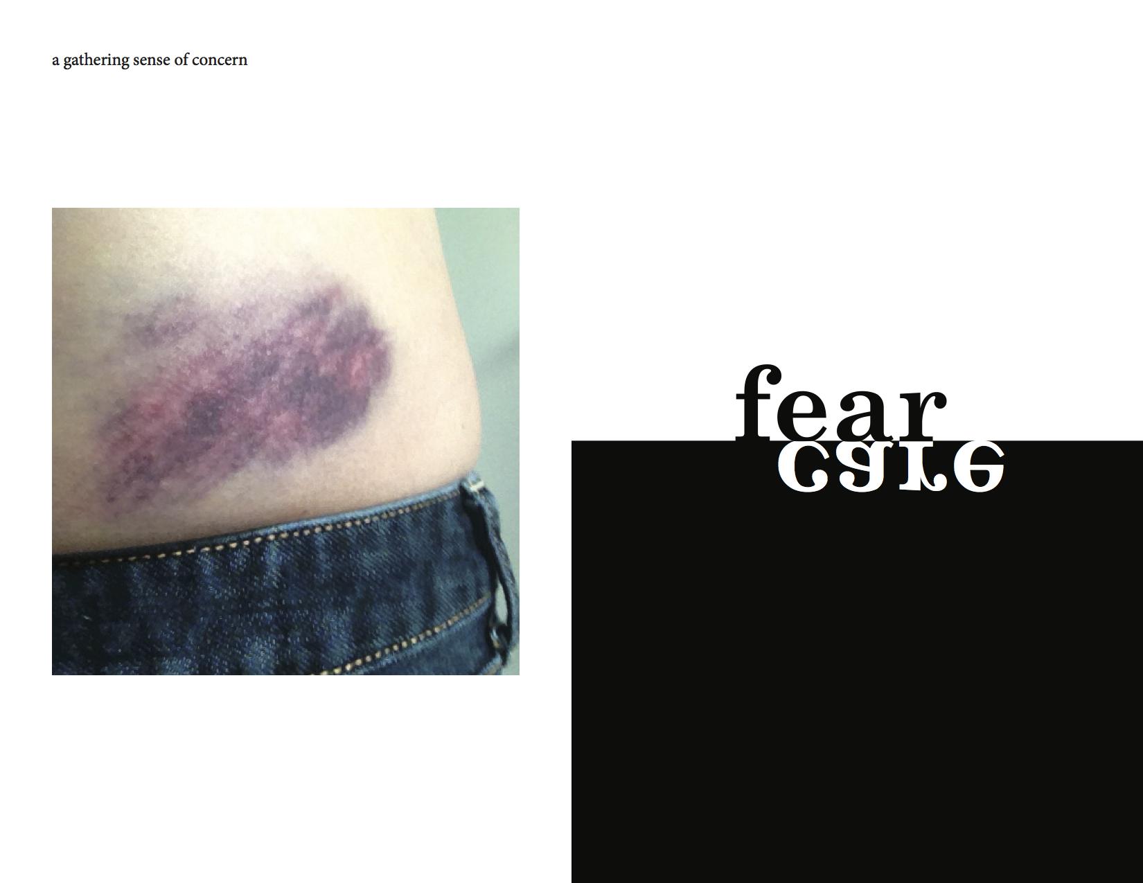 fear care spread copy